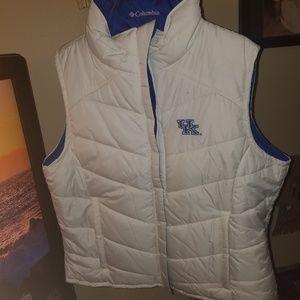 Columbia UK reversible vest